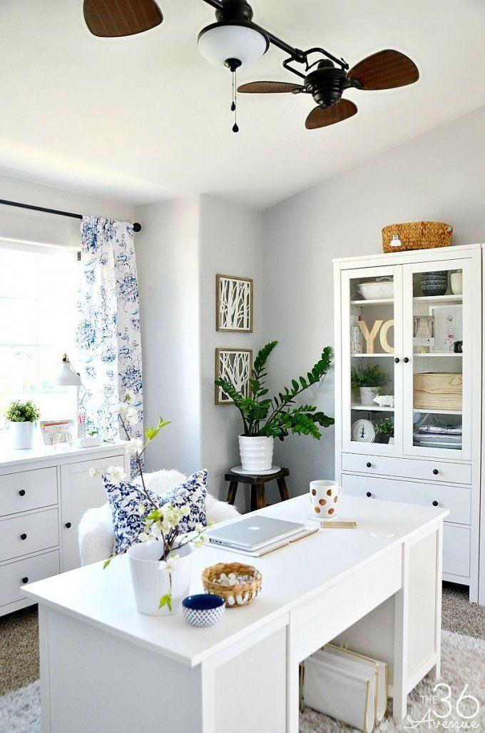 Home Office Decor Reveal  Part One  Arbeitszimmer Büros Und von Büro Ideen Für Zuhause Bild