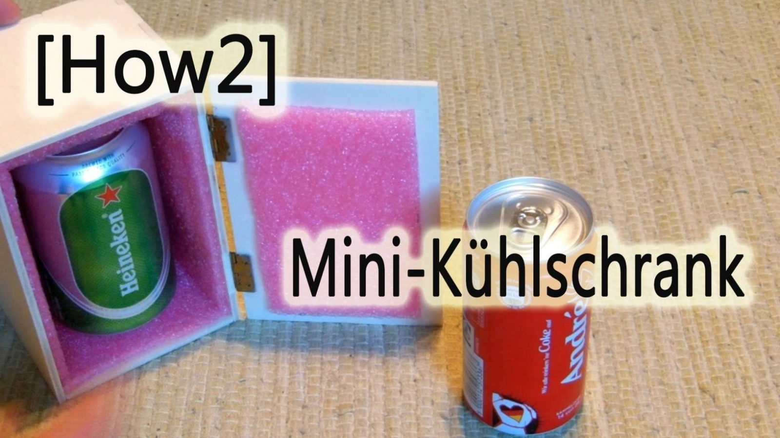 How2] Mini Kühlschrank Selbst Gebaut  Youtube von Peltier Element Kühlbox Selber Bauen Bild