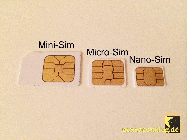 Howto Jede Congstar Microsim Im Iphone 5 Nutzen Sogar Mit Lte von Nano Sim Auf Micro Sim Adapter Selber Bauen Bild