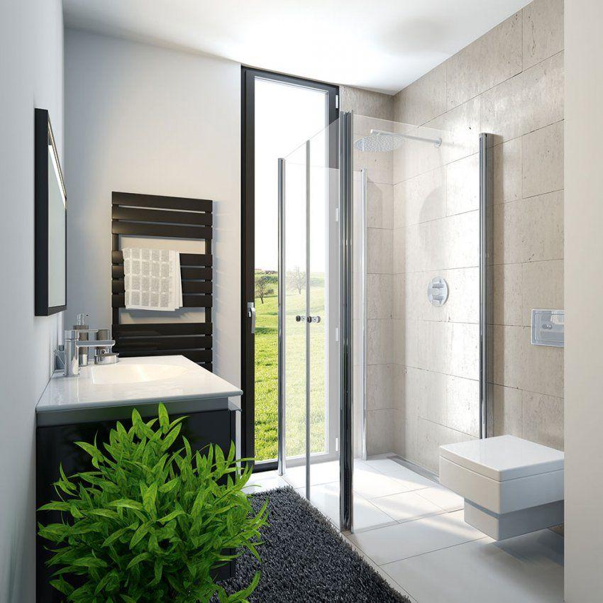 Hsk Exklusiv Profildrehfalttür Fensterlösung  Platzsparend von Dusche Vorm Fenster Lösung Bild