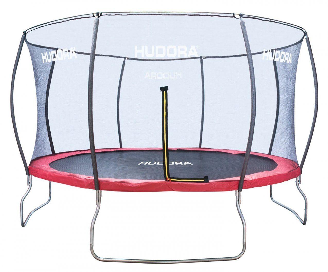 Hudora Trampolin Fantastic Test  300 Und 400 Cm Durchmesser von Trampolin Stiftung Warentest 2015 Bild