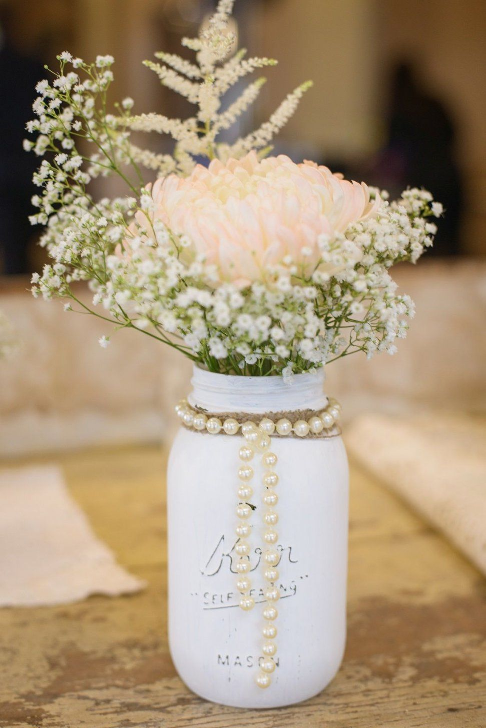 Ideas Glitter Mason Jar Set Wedding Centerpieces Shower Gold And von Mason Jar Flower Vases Bild