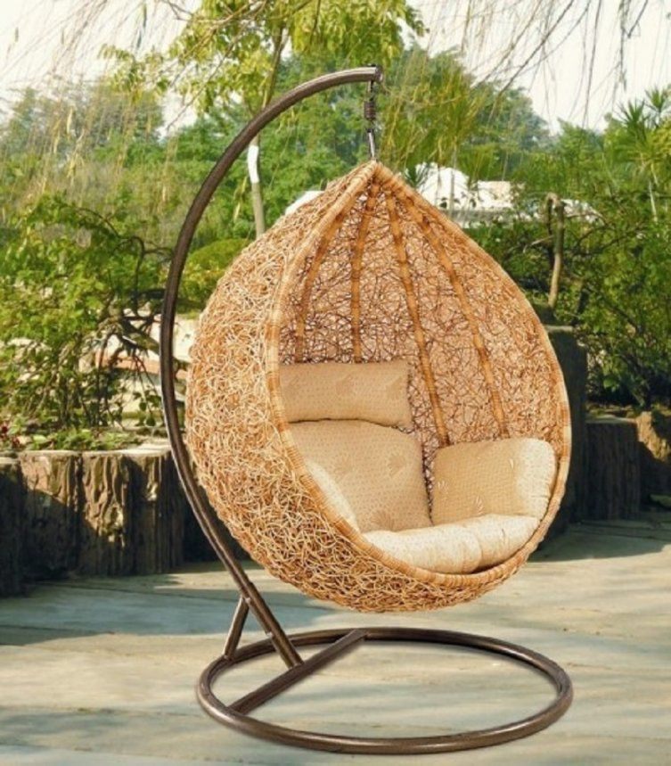 Ideas Round Outdoor Swing von Round Rattan Swing Bed Bild