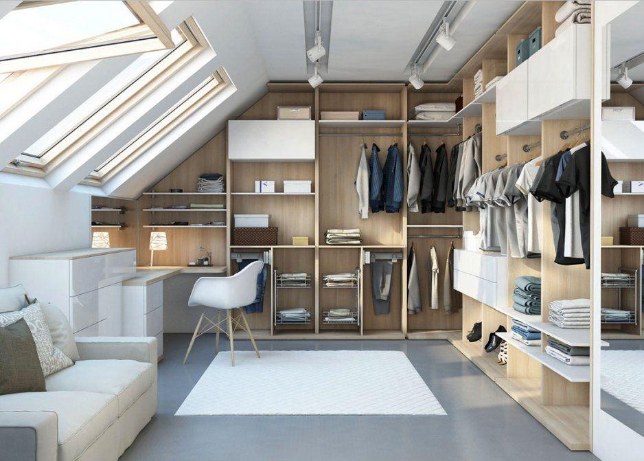 Ideen Begehbarer Kleiderschrank Dachschräge  Gispatcher von Ideen Begehbarer Kleiderschrank Dachschräge Bild