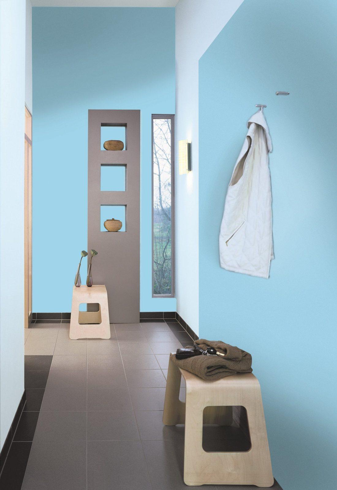 Ideen Für Die Wangestaltung Im Flur Alpina Farbe & Einrichten von Flur Ideen Für Den Eingangsraum Bild