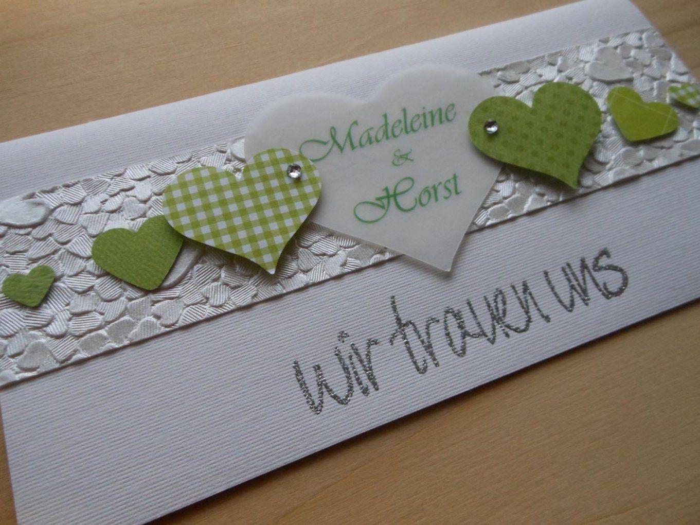 Ideen Für Hochzeitskarten Selber Basteln  Hochzeit Kleid von Hochzeitskarten Selber Basteln Ideen Photo