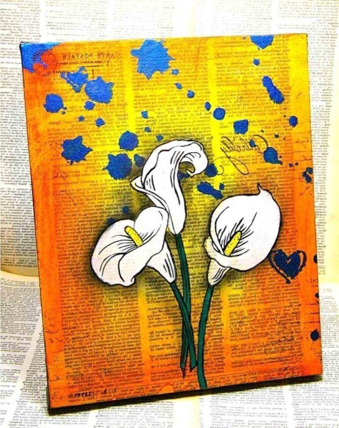 Ideen  Kleines Leinwandbilder Selber Gestalten Moderne Deko von Leinwandbilder Selber Malen Vorlagen Bild