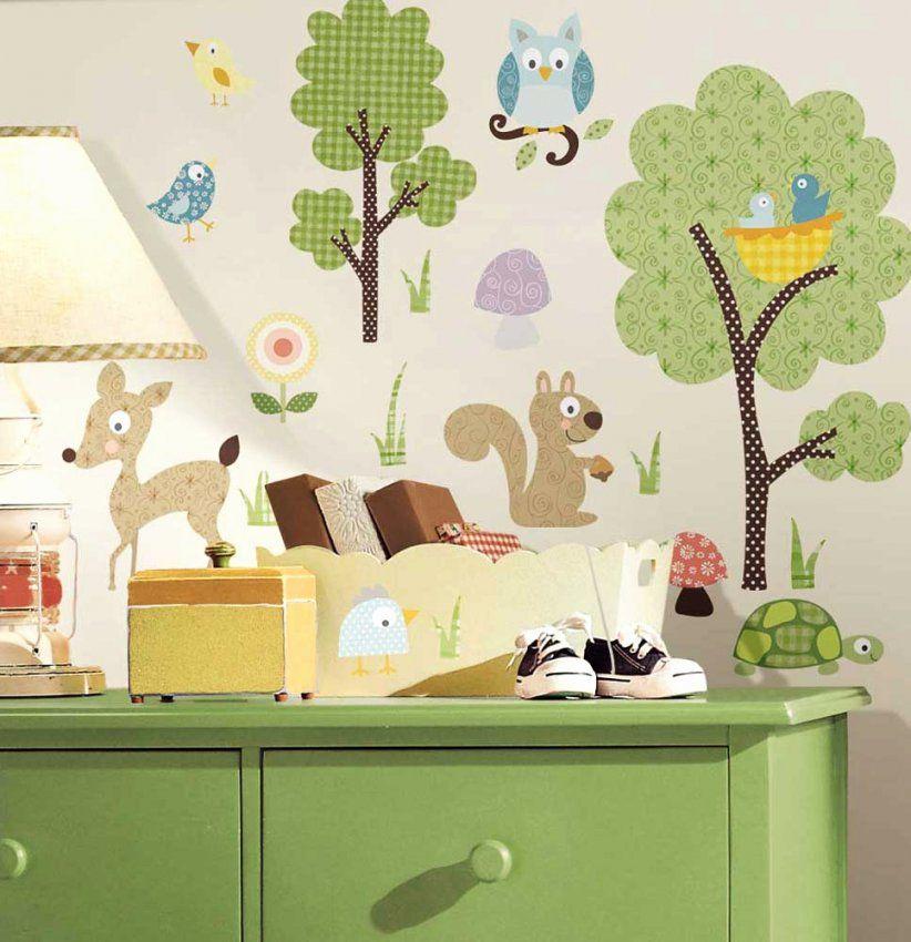 Ideen Wandtattoo Tiere Kinderzimmer Frisch Wandtattoos Kinder von Wandtattoo Kinderzimmer Junge Tiere Bild
