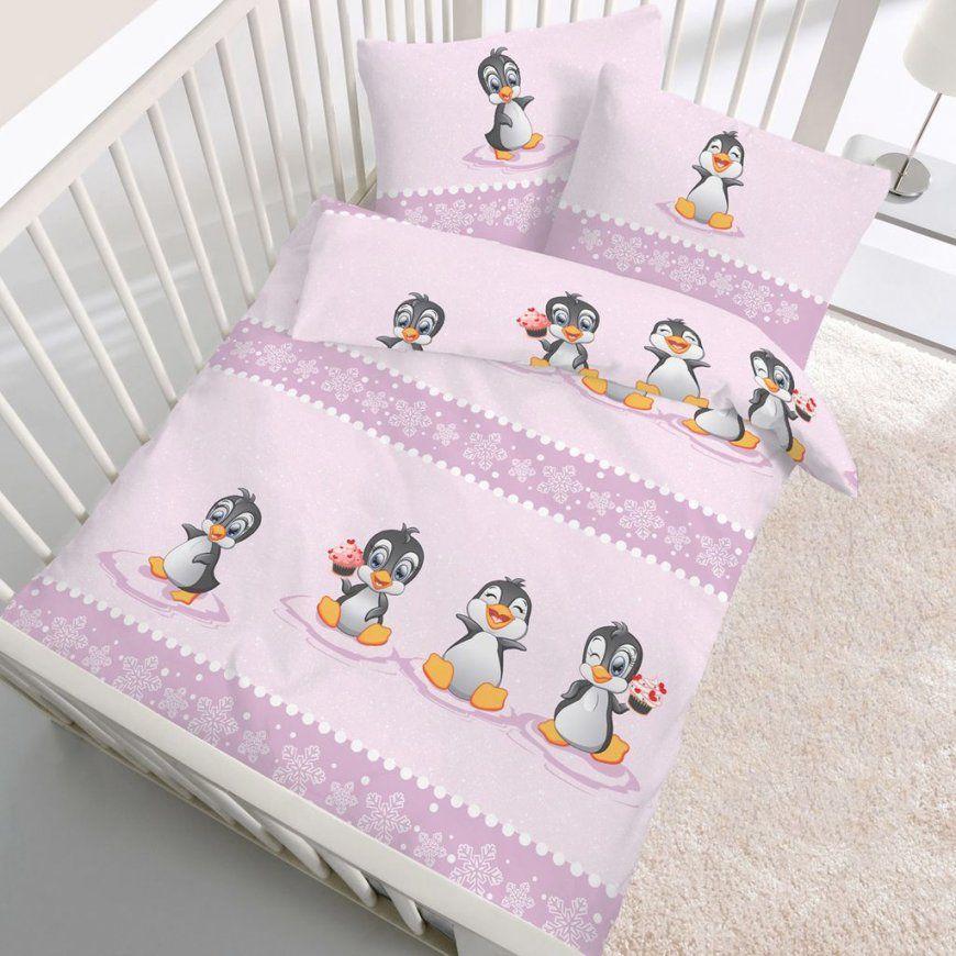 Ido Biberbettwäsche Baby Pinguin 40X60  100X135 Cm Online Kaufen von Baby Bettwäsche Biber 100X135 Photo