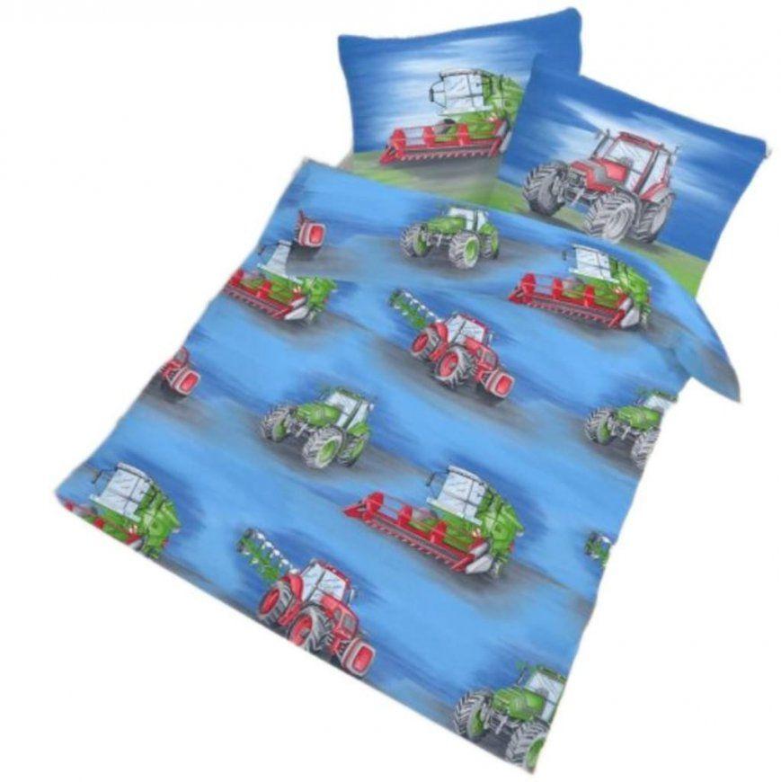 Ido Kinder Fein Biber Bettwäsche 100 X 135 Cm  40  Real von Traktor Bettwäsche 100X135 Photo