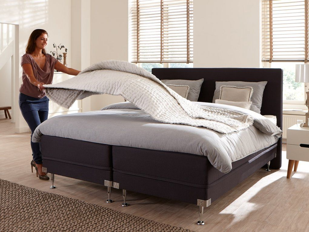 Ihr Bett Beziehen Was Sie Wissen Müssen  Swiss Sense von Boxspring Bett Richtig Beziehen Photo