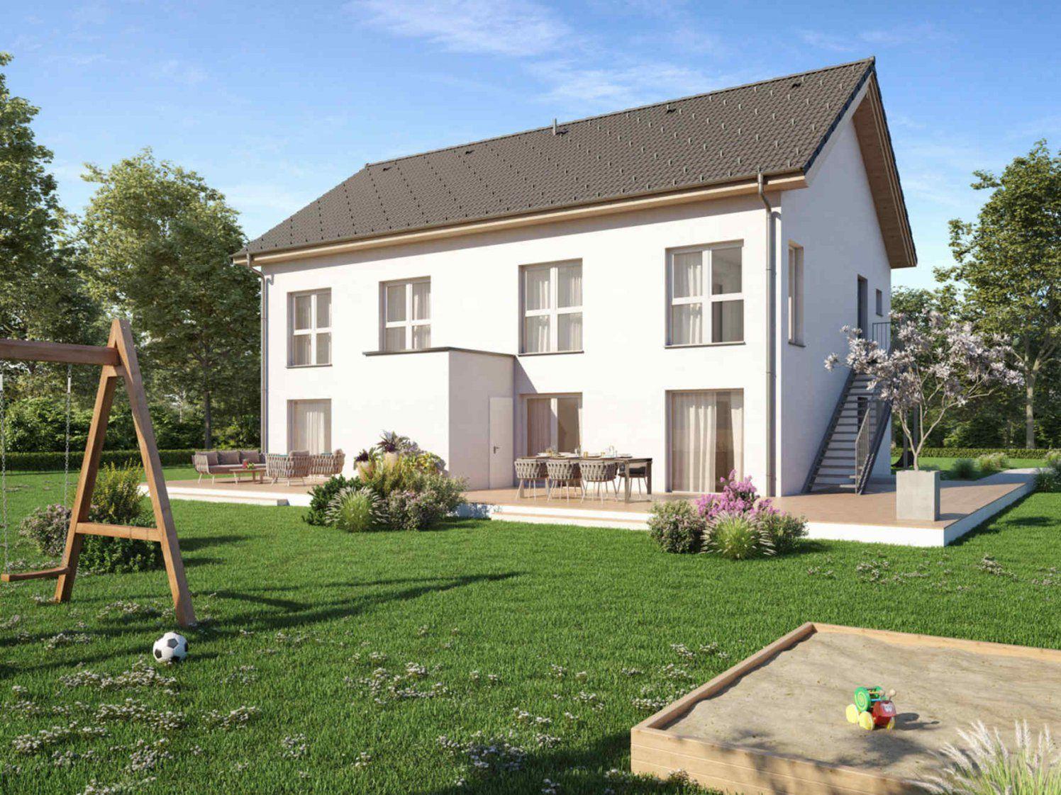 Ihr Perfektes Fertigteilhaus Eigenes Fertighaus 80M2 Kaufen  Vario von Kleines Fertighaus Für 2 Personen Bild