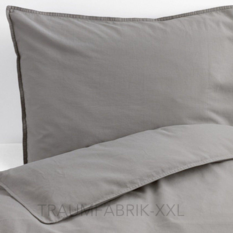 Ikea Dvala Bettwäsche Bettbezug 155220 Cm Bettwäscheset Weiß 2 Von