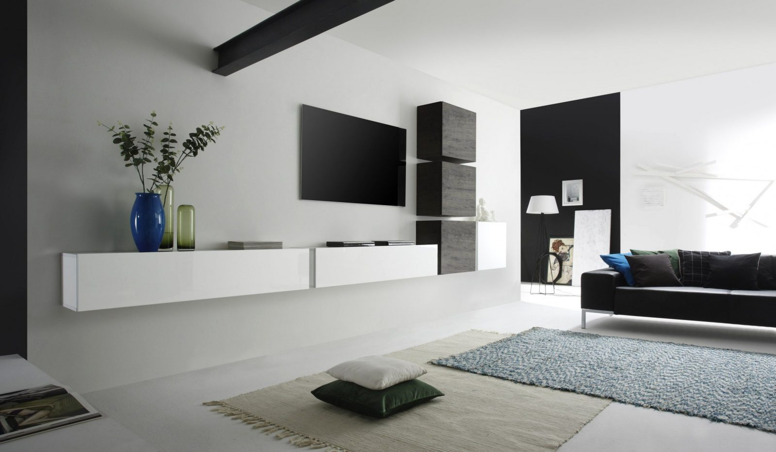 ikea hack besta we made a customized entertainment wall unit with von ikea besta wohnwand ideen. Black Bedroom Furniture Sets. Home Design Ideas