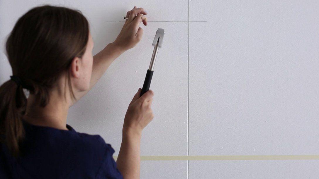 Ikea  Bilder Aufhängen Der Straightlinetrick  Youtube von Ikea Bilderrahmen Ribba Aufhängen Bild