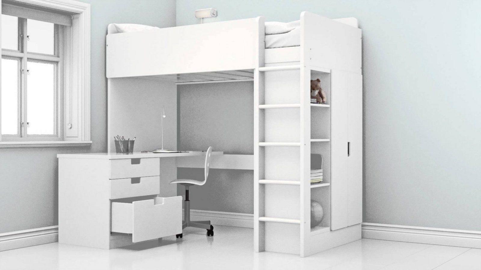 Ikea  Das Neue Stuva Hochbett  Youtube von Ikea Hochbett Mit Schreibtisch Und Schrank Photo