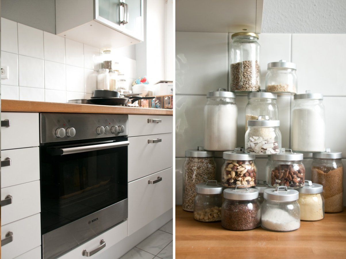 Ikea Faktum Küche Vorhernachher Und Kokosdonuts  Foodlovin' von Küche Lackieren Vorher Nachher Photo