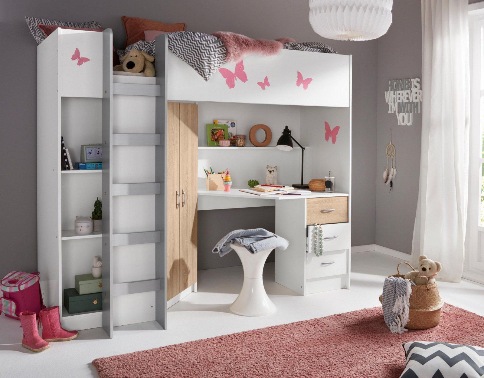 Ikea Hochbett Metall Mit Schreibtisch Aufbauanleitung  Beste von Ikea Hochbett Mit Schreibtisch Und Schrank Bild
