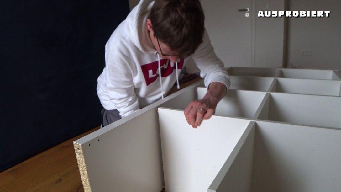 Ikea Kallax Aufbau  Aufbauanleitung  Youtube von Ikea Regal Kallax Aufbauanleitung Photo