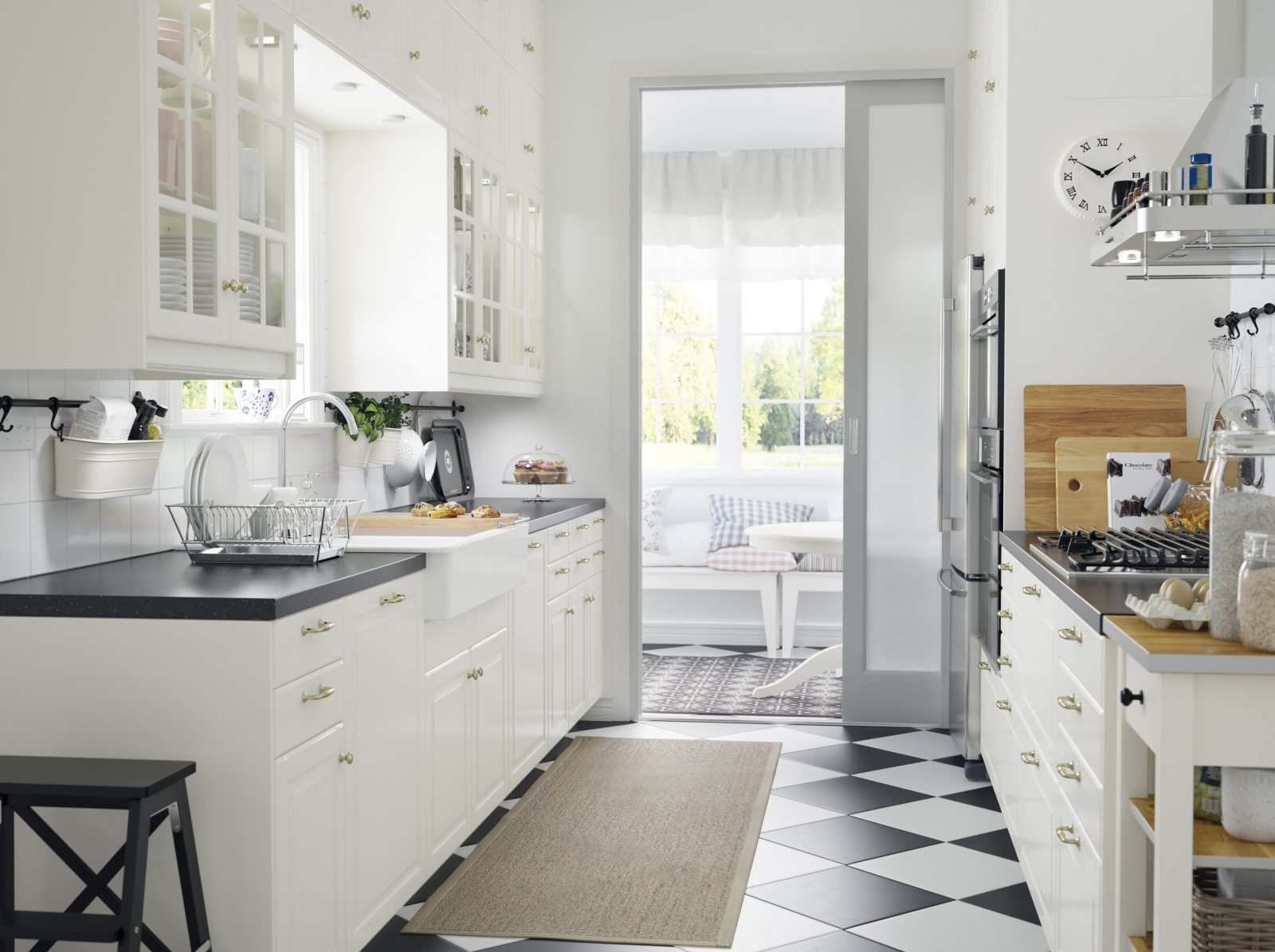 Ikea Küchen · Ratgeber Haus & Garten von Küche Landhausstil Weiß Ikea Bild