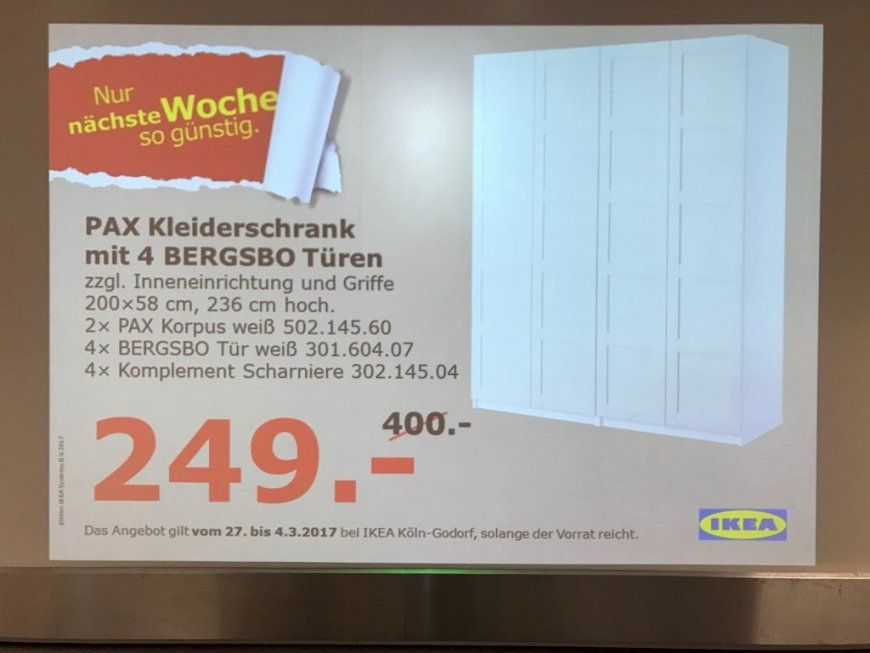 ikea pax schrank angebot haus design ideen. Black Bedroom Furniture Sets. Home Design Ideas