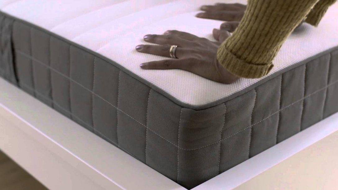 Ikea Rolled Packed Spring Mattresses  Youtube von Hövag Matratze Ikea Test Bild