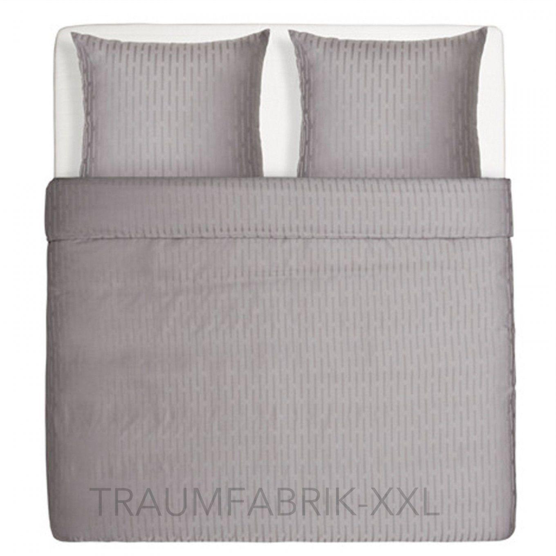 Ikea Strandgyllen Grau Bettwäsche Bettwäscheset 240×220 Cm Übergröße von Ikea Bettwäsche Grau Weiß Bild