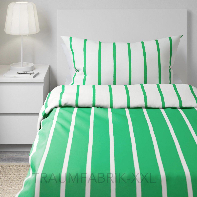Ikea Tuvbräcka Bettwäsche Set 140×200 Cm 80×80 Bettbezug Grün 100 von Ikea Bettwäsche Grün Bild