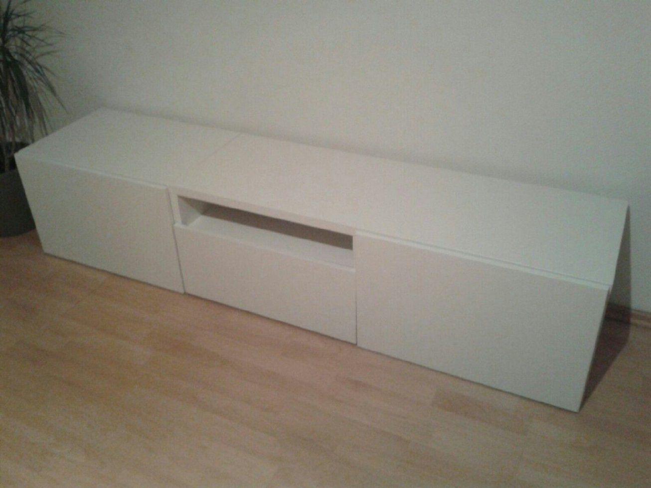 Ikea Tv Bank Weiss  Swalif von Besta Tv Bank Weiß Photo