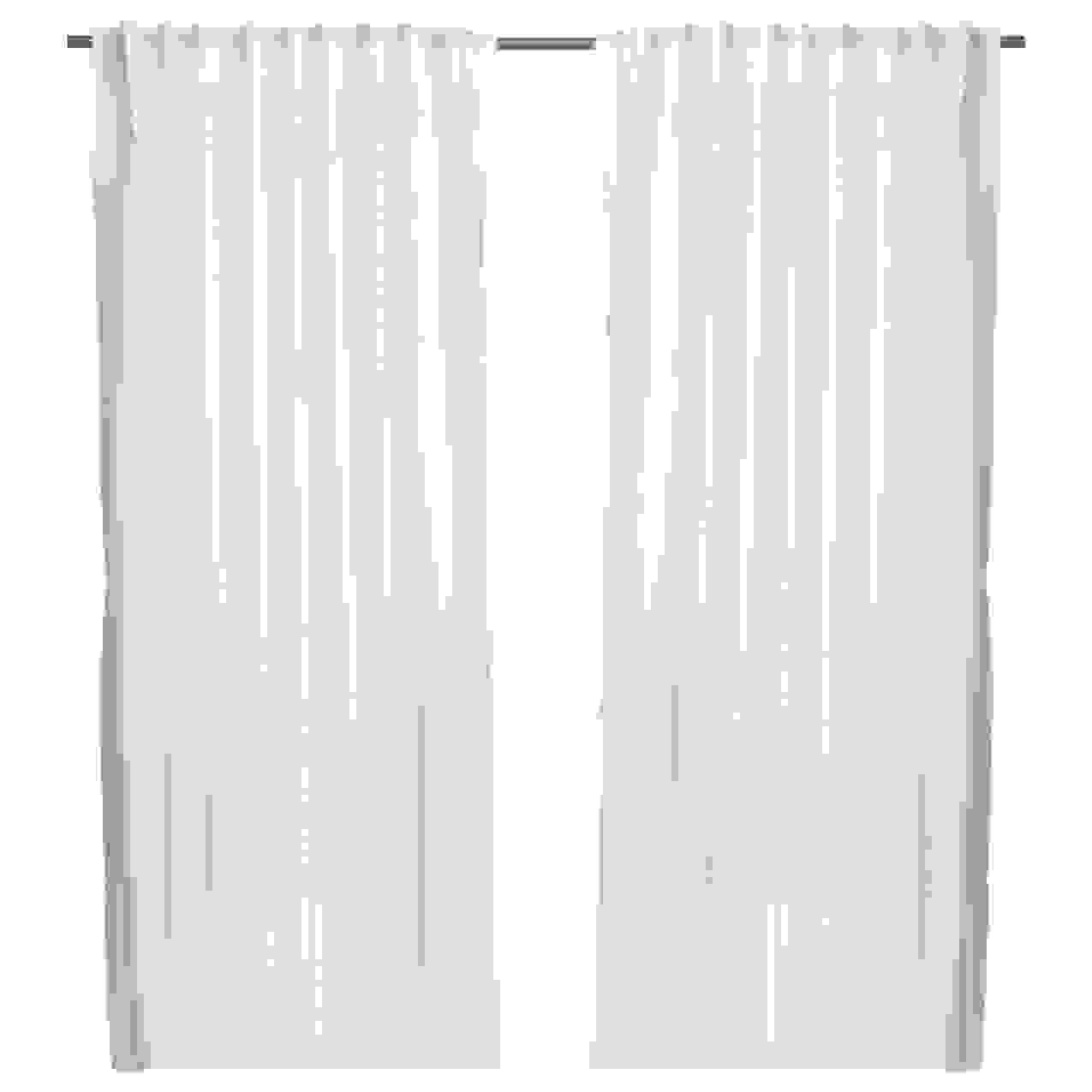 Ikea Vivan 2X Gardinenschal Vorhangset Paar Vorhänge 300 X 145 Cm von Vorhänge 300 Cm Lang Photo
