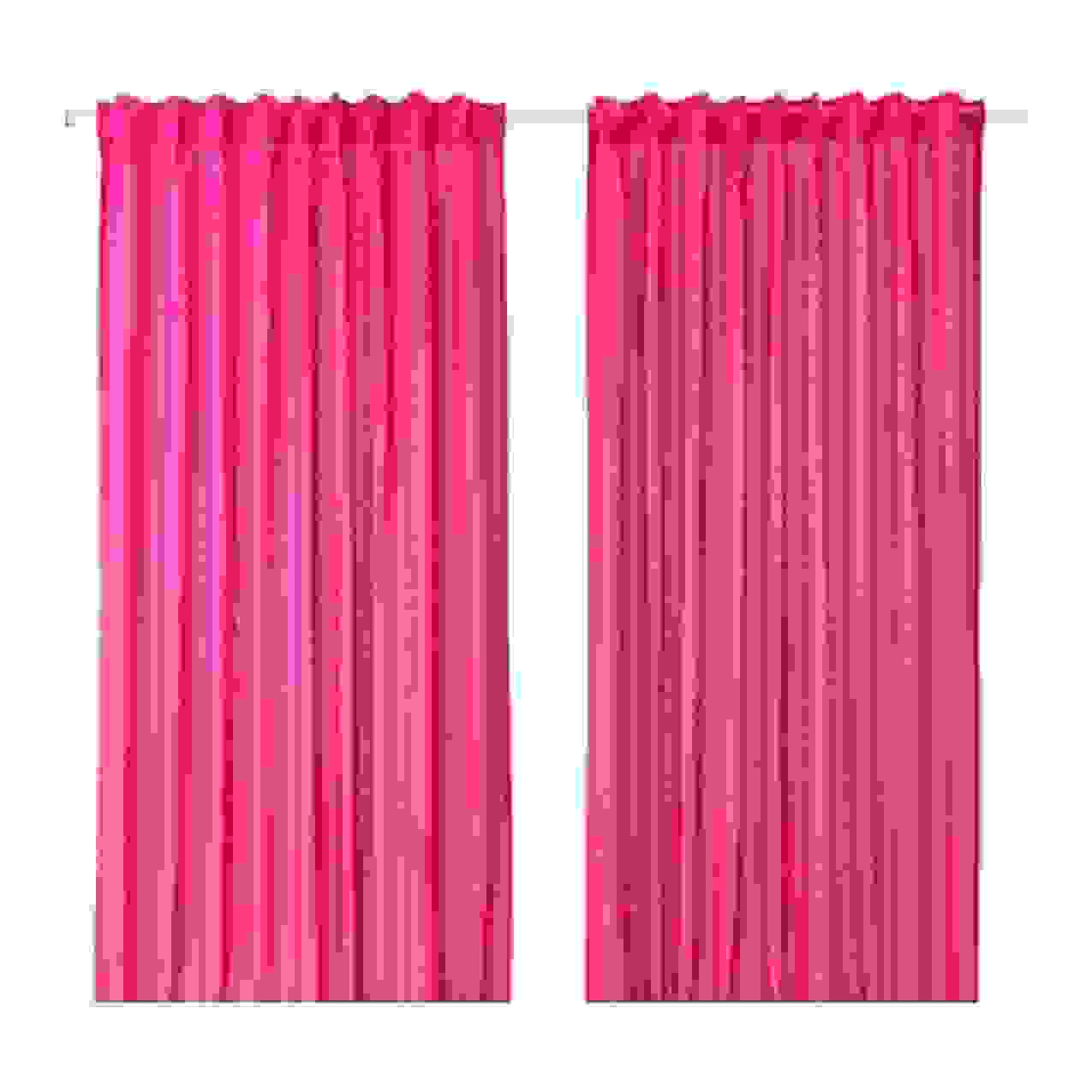 Ikea Vivan 2X Gardinenschal Vorhangset Vorhänge 300 Cm X 145 Cm von Verdunkelungsvorhang 300 Cm Lang Bild