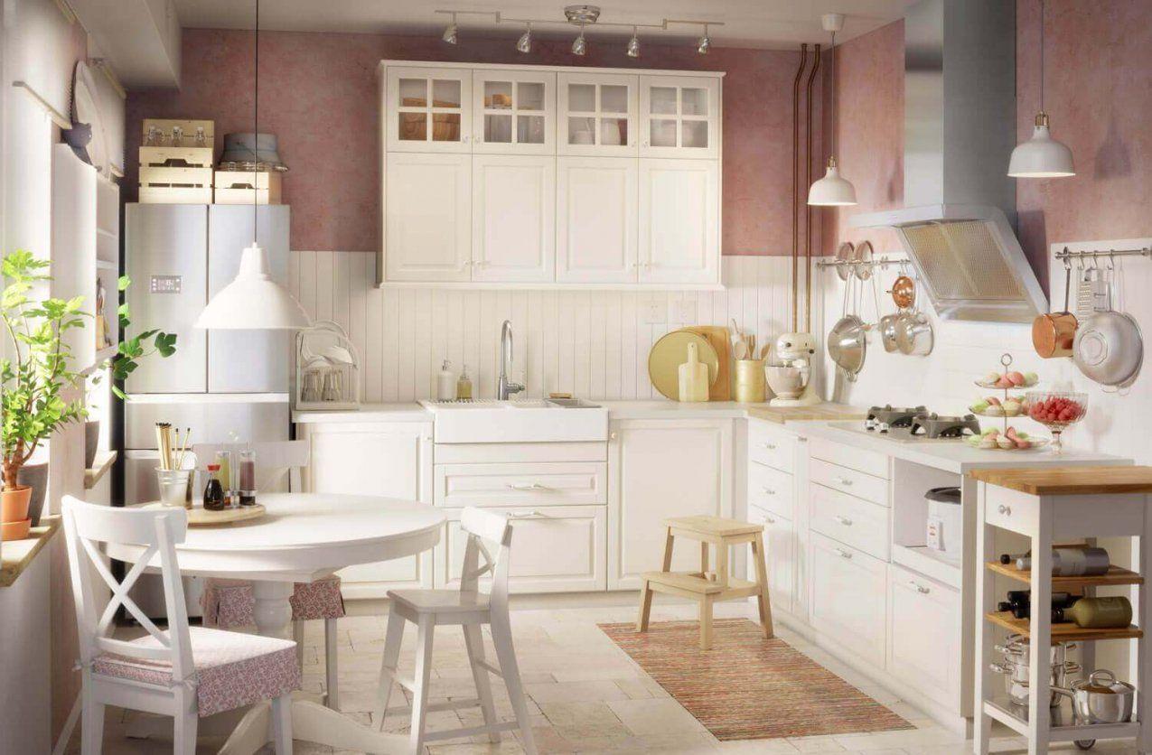 Ikeakuechenlandhausweiss  Küchenfinder Magazin von Küche Landhausstil Weiß Ikea Photo