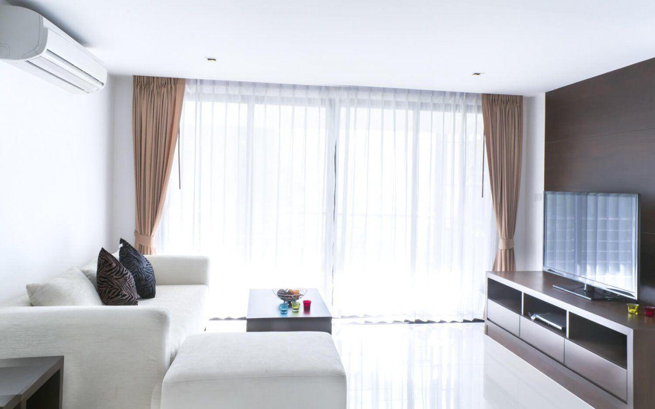 Im Wohnzimmer Avec Große Fenster Gardinen Et Gardinen Im Wohnzimmer von Gardinen Für Große Fensterfront Photo