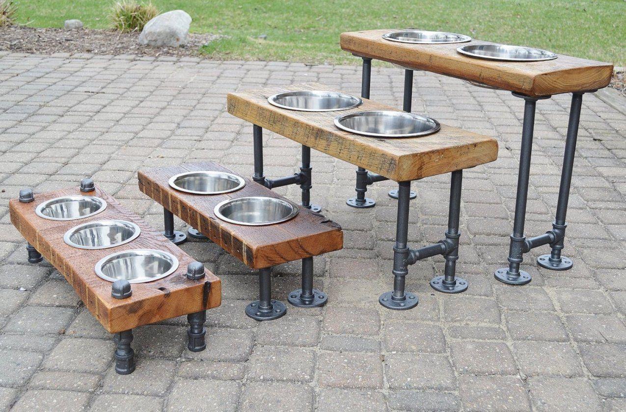 Industrial Look  26 Stylische Möbel Aus Rohrverbindern von Design Möbel Selber Bauen Photo