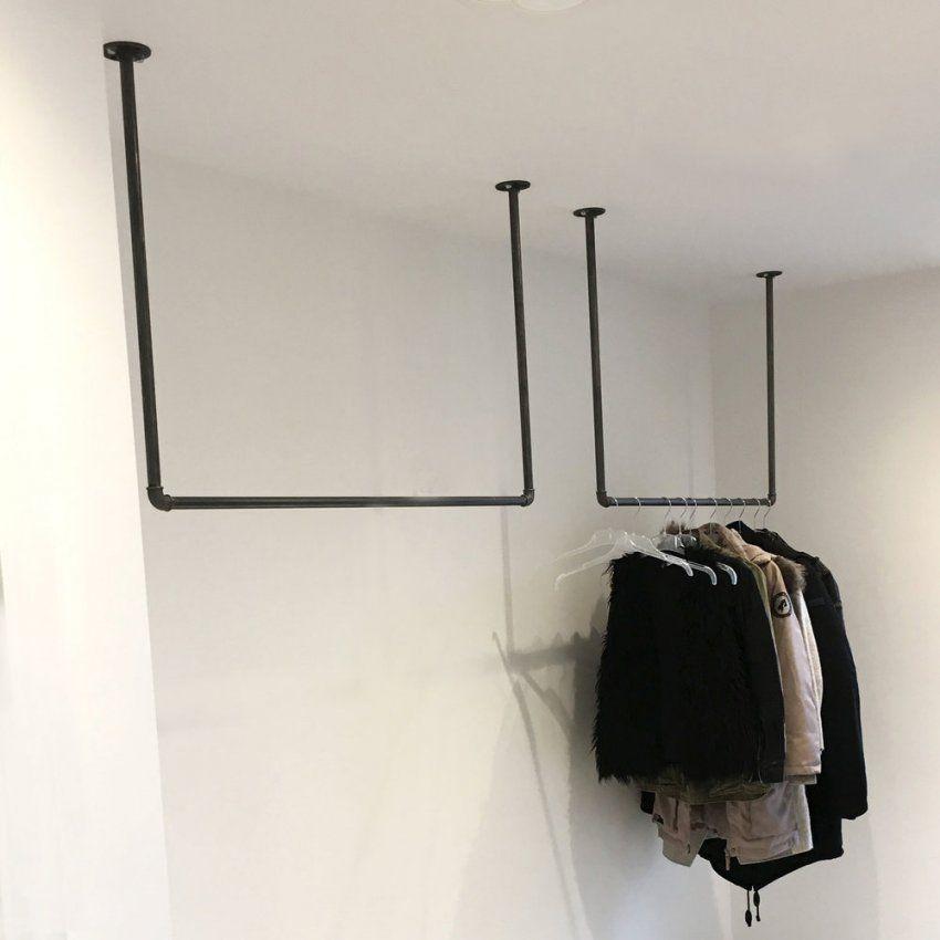 Industriedesign Stahlrohr Möbel Um Die Ecke & Deckenbefestigt — Various von Kleiderstange Von Der Decke Photo