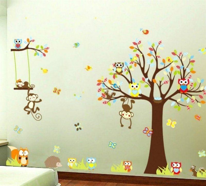 Innenarchitektur  Ehrfürchtiges Wandbilder Selber Malen Bild Fr von Vorlagen Wandbilder Für Kinderzimmer Bild