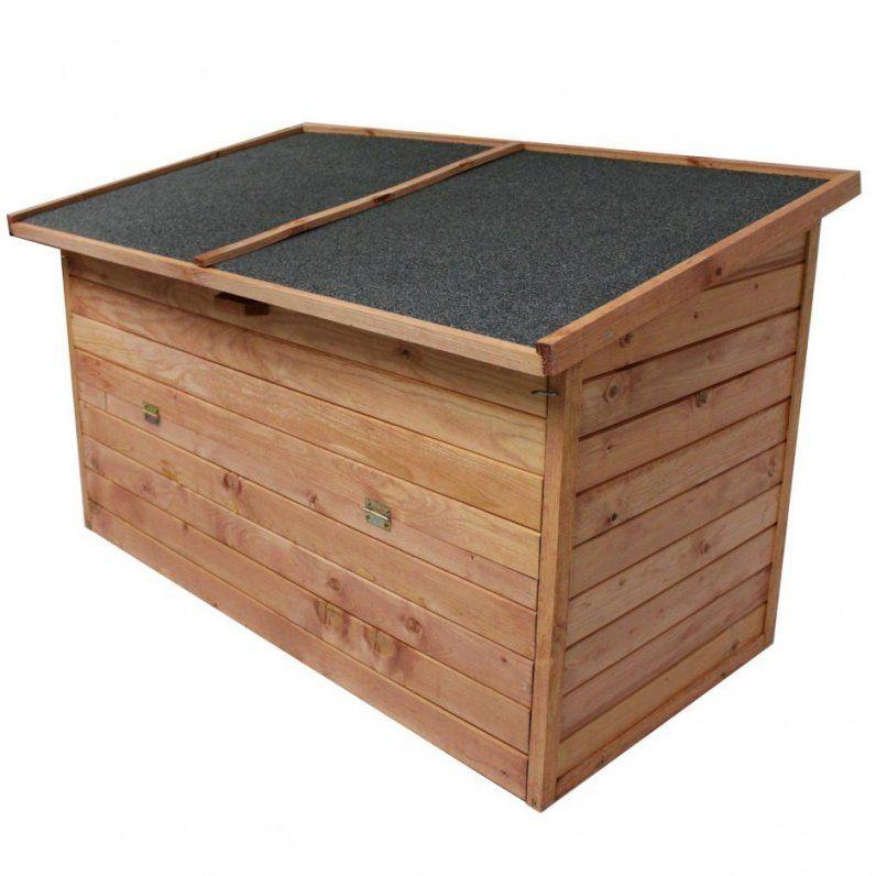 Innenarchitektur   Gartentruhe Wasserdicht Holz von Auflagenbox Holz Selber Bauen Bild