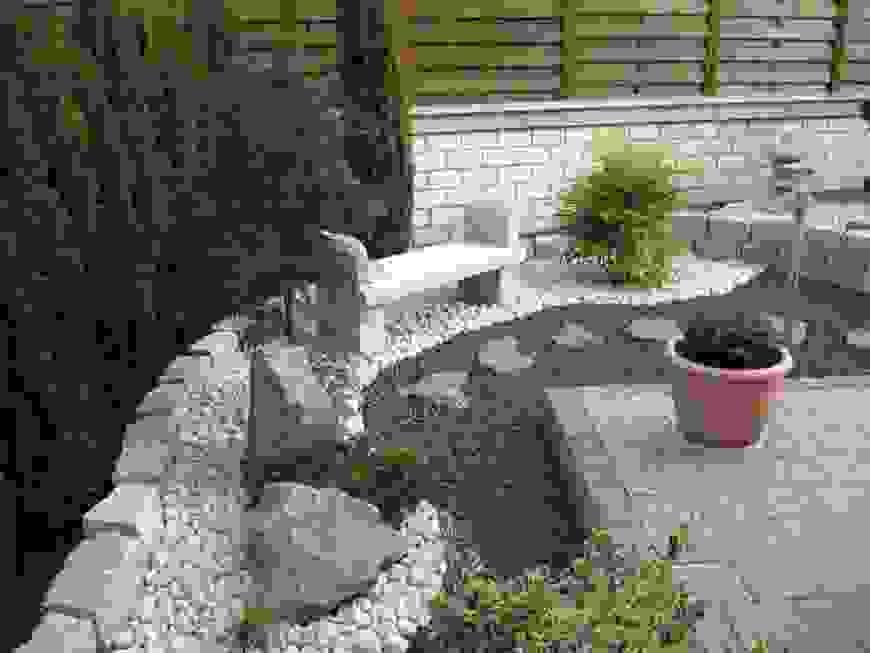 Innenarchitektur Schönes Garten Modern Kies Vorgarten Ideen Frs Von von Vorgarten Moderne Gestaltung Kies Photo