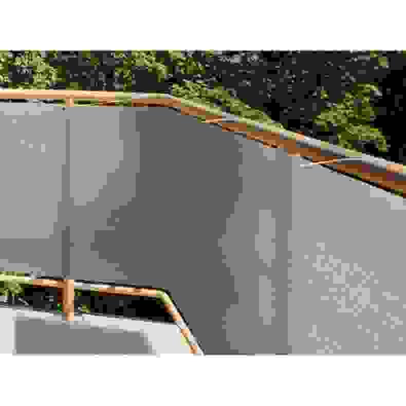 balkon sichtschutz kunststoff meterware top frisch balkon sichtschutz stoff meterware. Black Bedroom Furniture Sets. Home Design Ideas