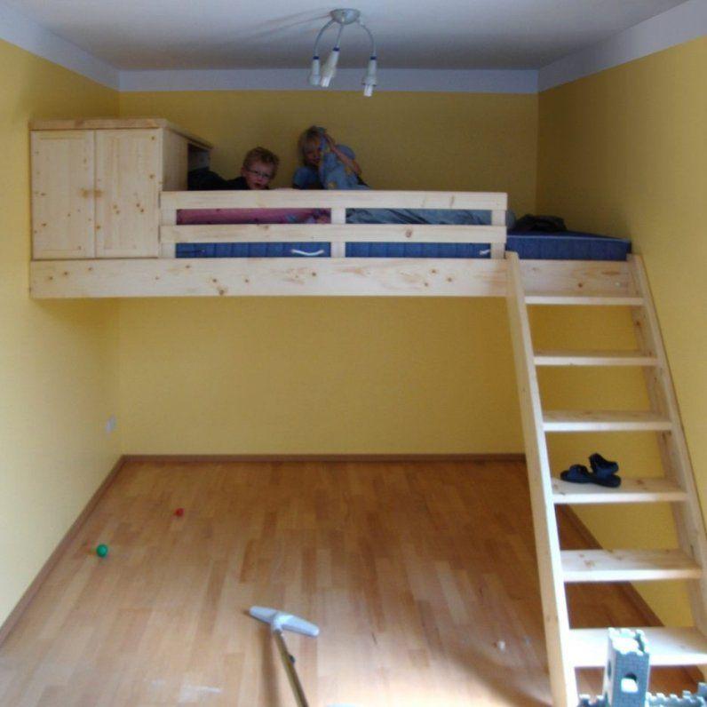 Innenarchitektur Tolles Hochbett 2 Kinder Hochbett Selber Bauen Avec