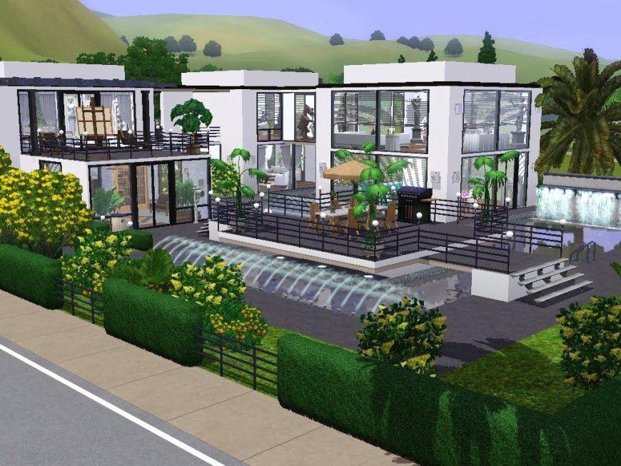 Innenarchitektur Tolles Sims Hauser Sims 2 Hauser Zum Nachbauen Avec von Sims Häuser Zum Nachbauen Photo