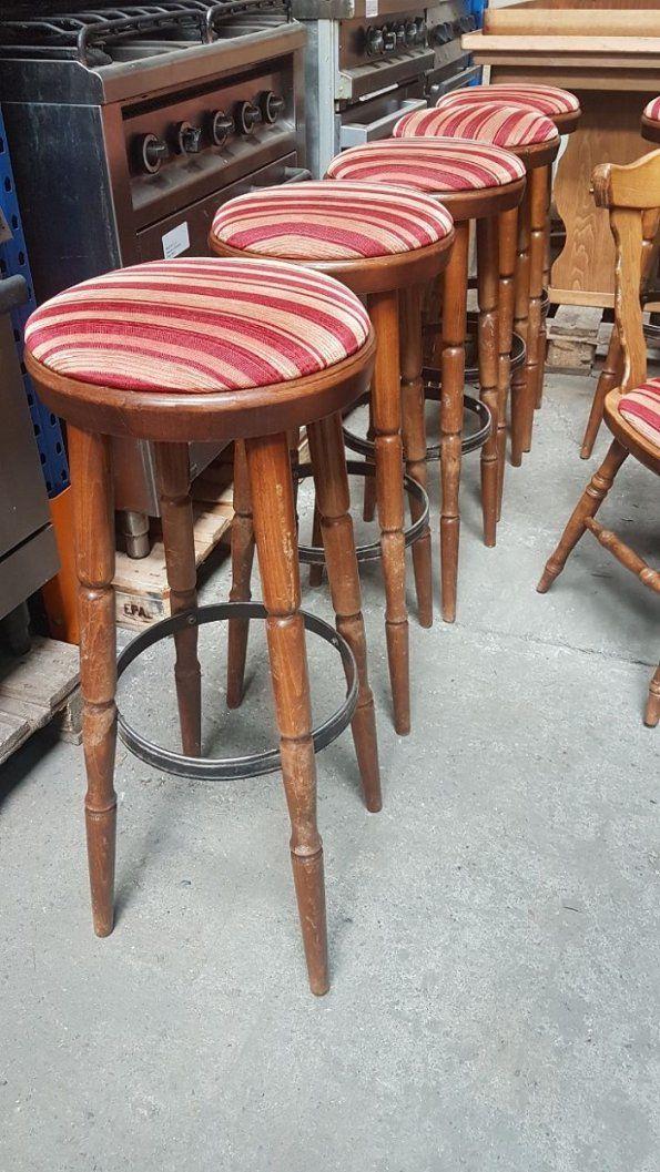 Innenbestuhlung Bänke Stühle Barhocker Für Gastronomie – Insolvenz von Stühle Für Gastronomie Gebraucht Bild