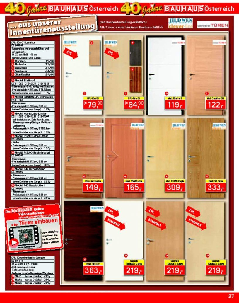 Innentüren Weiß Bauhaus  Harzite von Bauhaus Innentüren Mit Zarge Bild