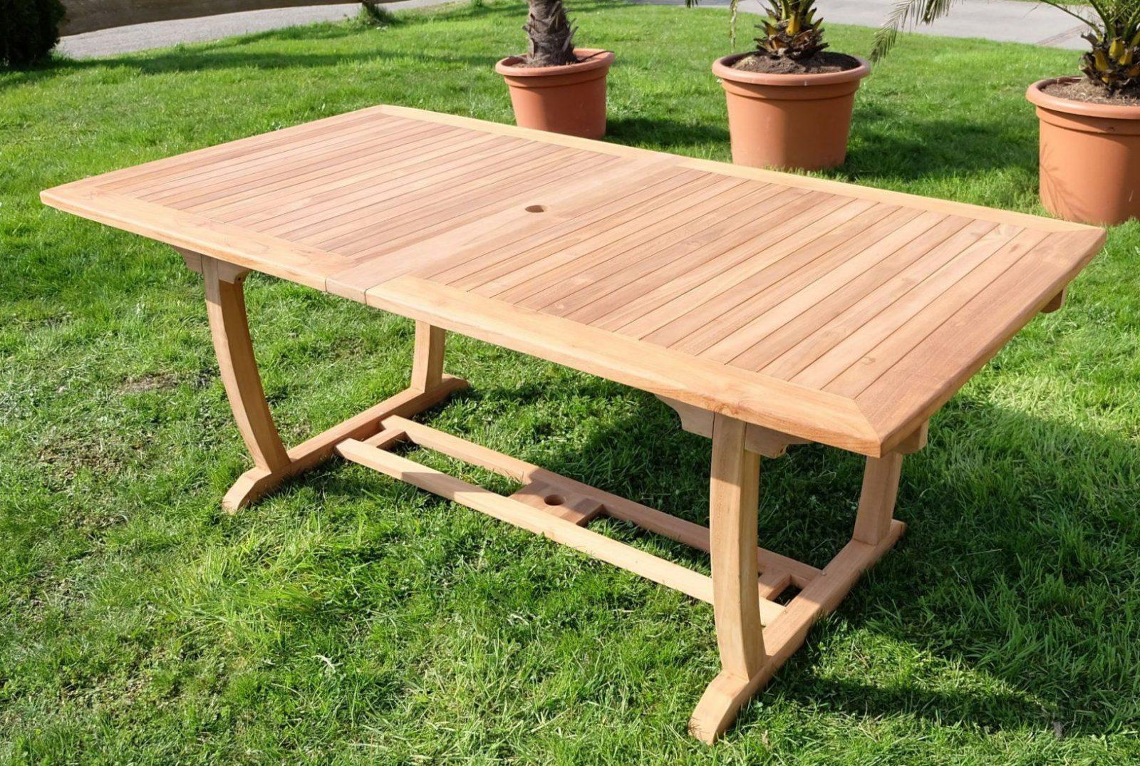 Inspiration Gartentisch Ausziehbar Holz Designideen  Gartendesign von Gartentisch Holz Ausziehbar Günstig Photo
