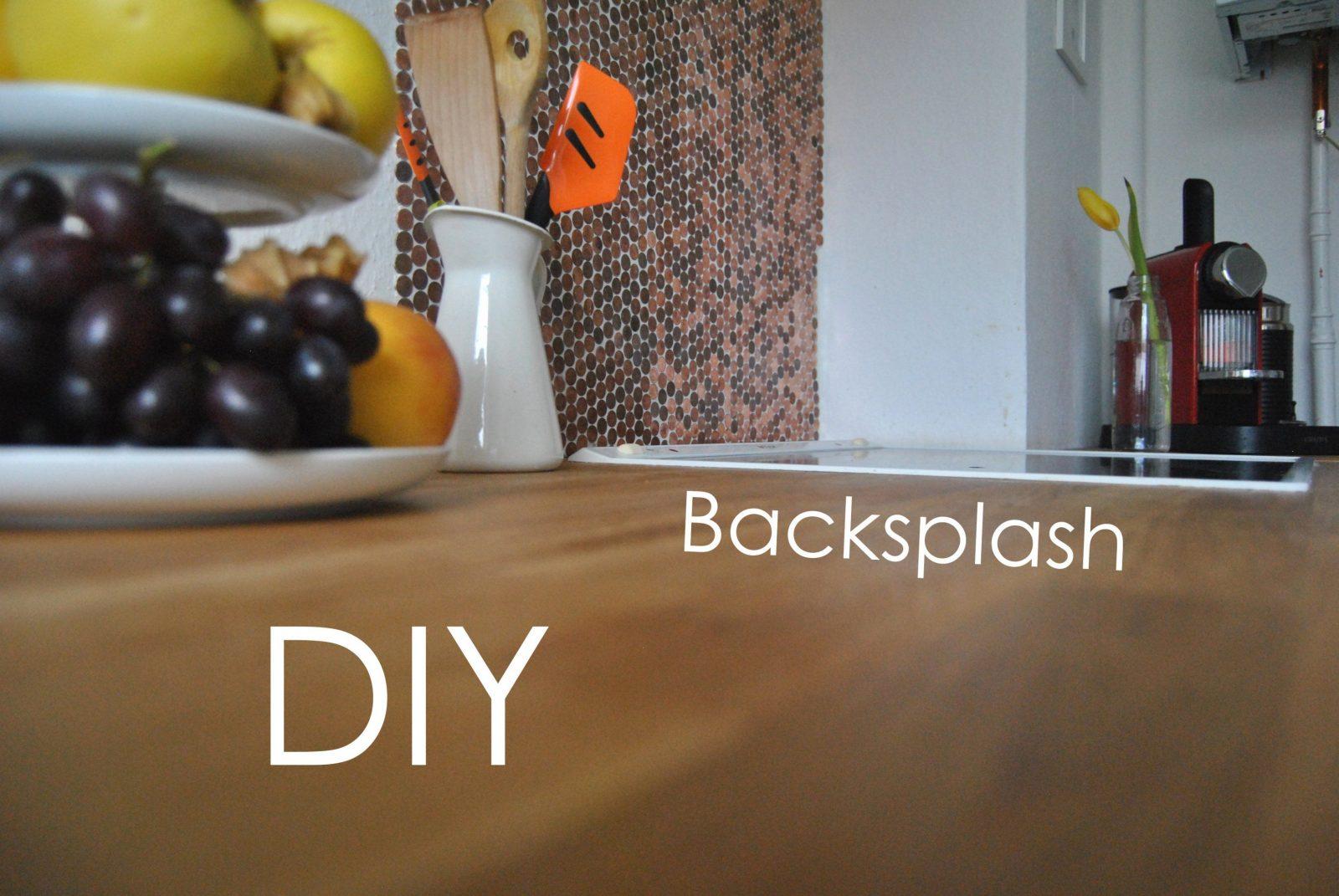 Inspiration Spritzschutz Küche Selber Machen Und Attraktive Diy Für von Spritzschutz Küche Selber Machen Bild