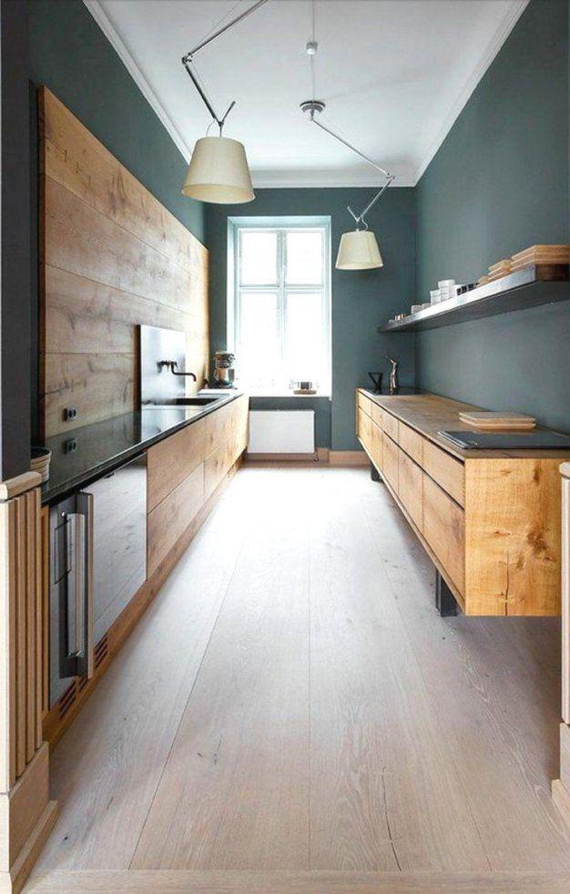 Intelligente Ideen Schmale Küche Einrichten Und Schöne Kuche von Schmale Küche Mit Essplatz Bild
