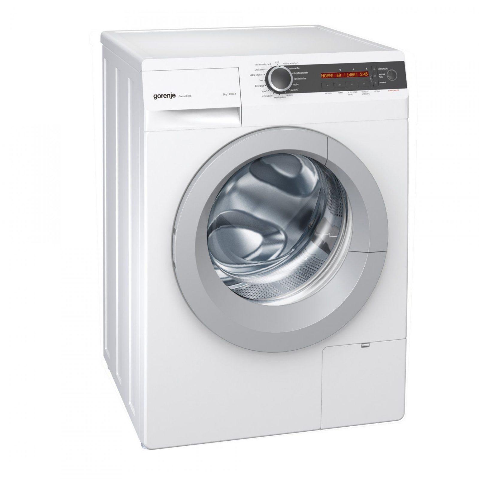 Intelligentes Waschen Und Trocknen – Sensationell Weiße Und Weiche von Gorenje W 6443 S Slim Bild