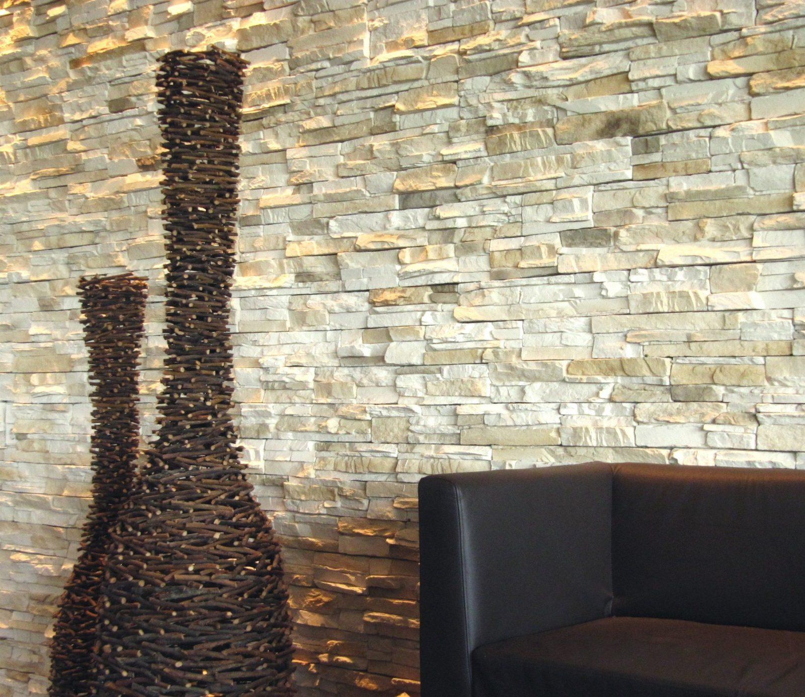 Interessant Wand Gestalten Mit Steinen  Kpelavrio von Wände Mit Steinen Gestalten Photo