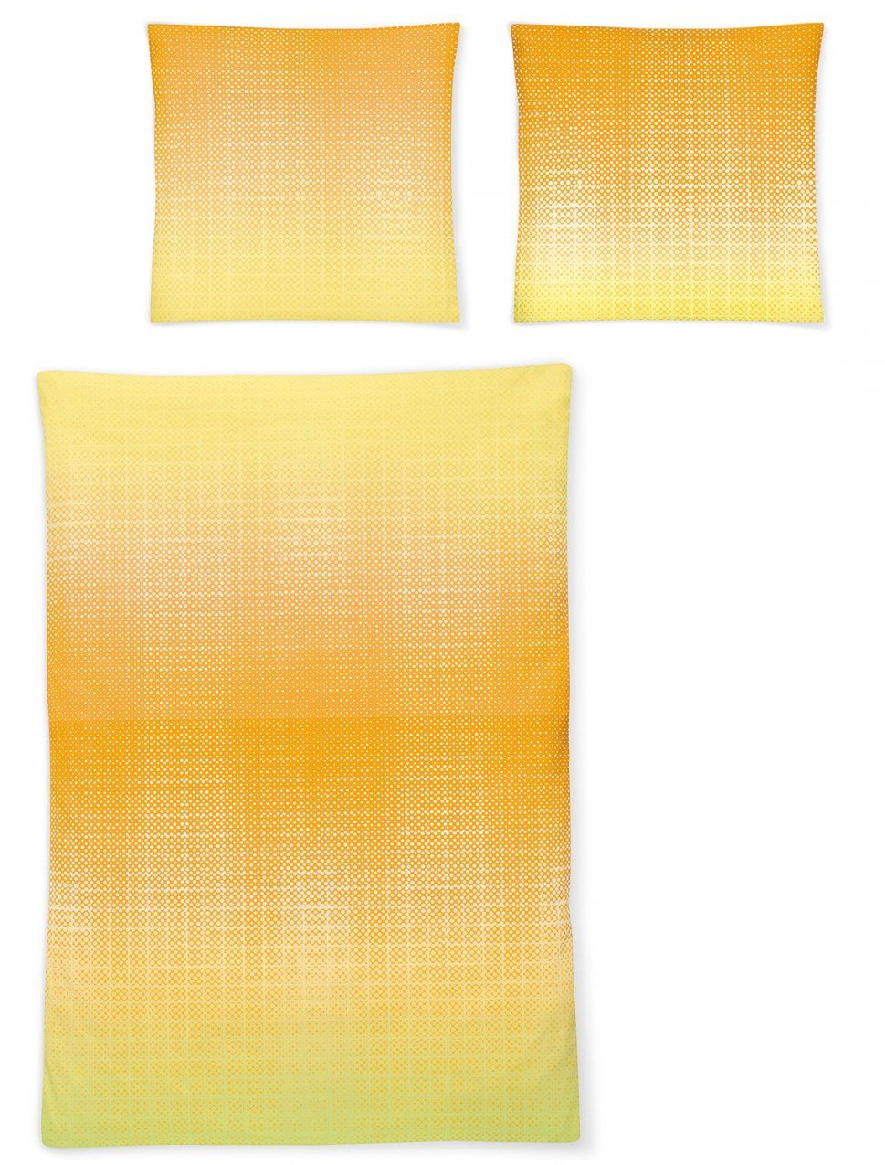 Irisette Makosatin Bettwäsche 849150 Gelb von Biber Bettwäsche Gelb Bild