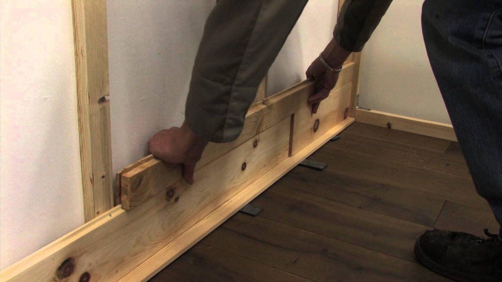 Irregolare Wandverkleidung Wandvertafelung Wandpaneele  Youtube von Wandverkleidung Holz Selber Bauen Bild
